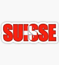 Switzerland Suisse Flag  Sticker