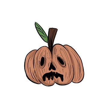Spooky Pumpkin - Halloween 2016 by KaitlynLister