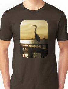 King of the Pier ~ Heron T-Shirt