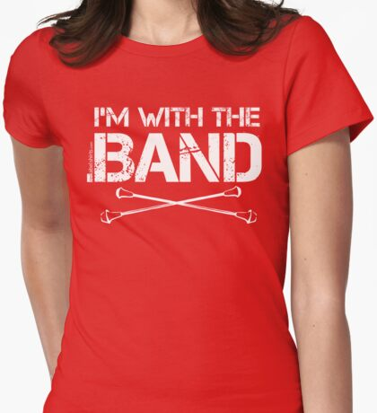 I'm With The Band - Majorette (White Lettering) T-Shirt