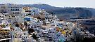 Santorini's landscape by Riko2us