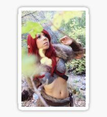 Skyrim Cosplay Sticker