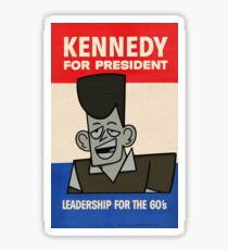 JFK For President Sticker
