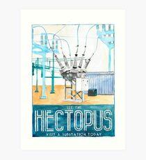 Hectopus Art Print