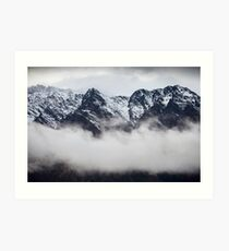 The Remarkables - Queenstown - NZ Art Print