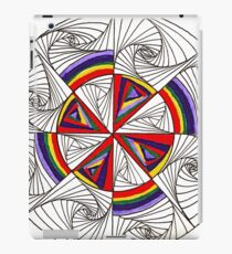 Psychedelic Rainbow iPad Case/Skin