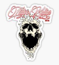 Tattoo Kultur - Shattered Sticker