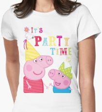 Camiseta entallada para mujer SIHALANG01 Peppa Pig Tour 2016