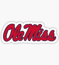 Ole Miss Sticker