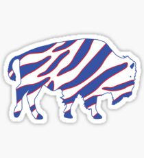 Buffalo Zubaz Sticker