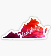 Blacksburg Sticker