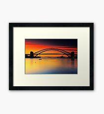 Vivid Sunrise Framed Print