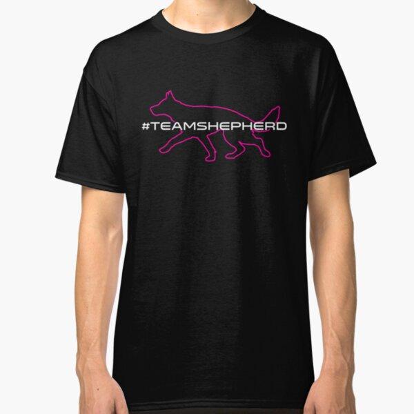 Team Shepherd – Pink w/ White Font Classic T-Shirt