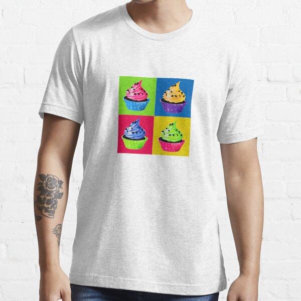 Cupcake Pop Art Essential T-Shirt