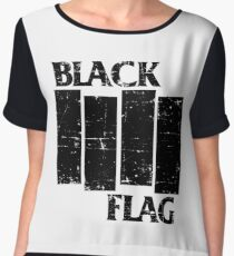 BLACK FLAG Women's Chiffon Top