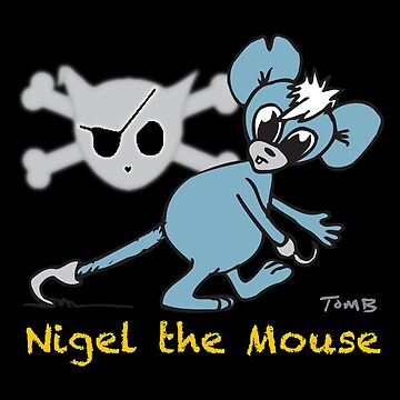 Mouse Rat - Nigel The Mouse From Cuddles The Urban Pirate by rebeccadigennar