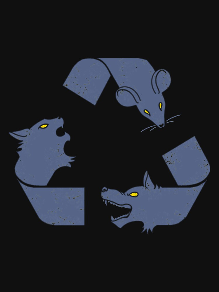Mouse Rat - Re Cycle Of Life by rebeccadigennar