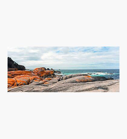 Cosy Corner - Bay of Fires - Tasmania Photographic Print