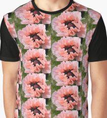 PINK POPPY FLOWER PETALS Graphic T-Shirt