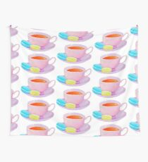 Tea and Macaroons Wall Tapestry