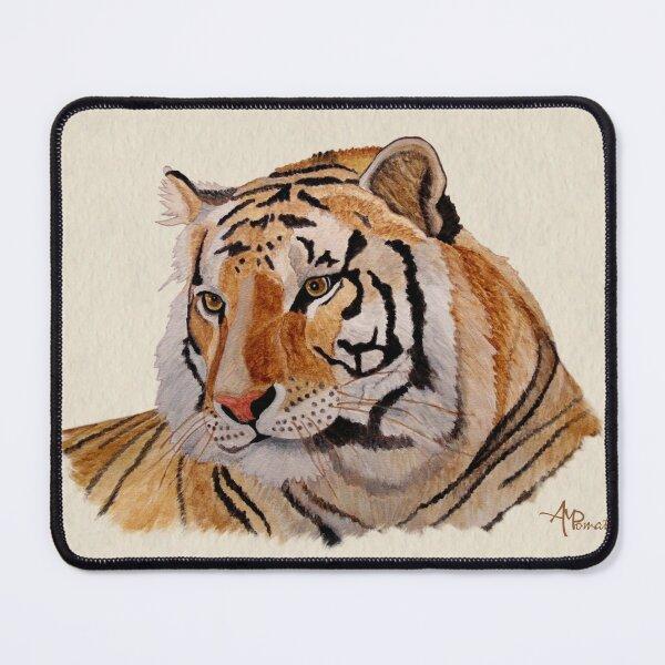 Acuarela de tigre de Bengala Alfombrilla de ratón