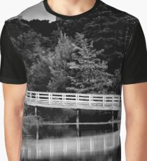 Bridge Reflection | Kings Park, New York Graphic T-Shirt