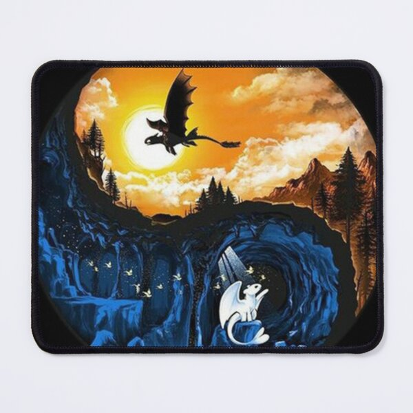 Art Gifts The Hidden World Mouse Pad