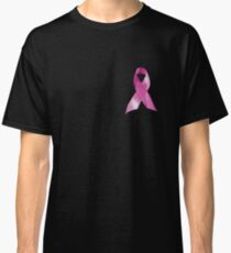 Pink Ribbon Breast Cancer Awareness - Hope Classic T-Shirt