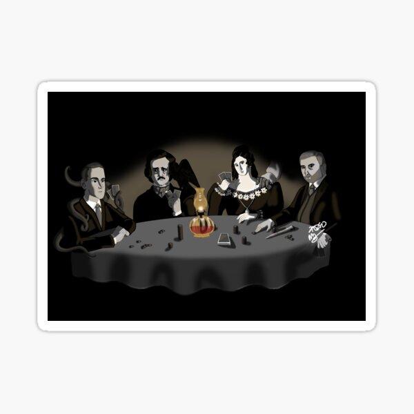 Horrific Game of Poker V. 1 Sticker