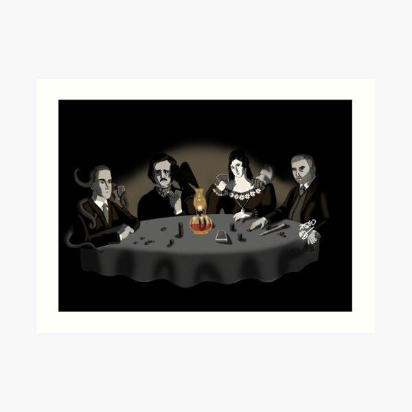 Horrific Game of Poker V. 1 Art Print