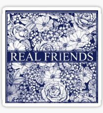 Real Friends Band Sticker