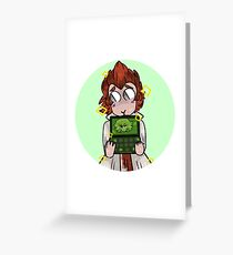 leon and alter ego Greeting Card