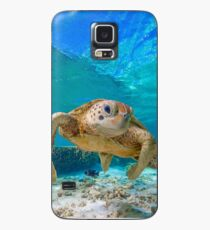 Happy Turtle Case/Skin for Samsung Galaxy