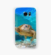 Happy Turtle Samsung Galaxy Case/Skin