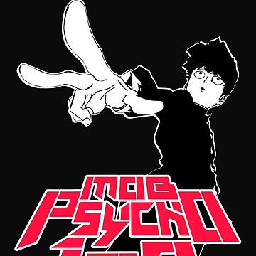 MOB PSYCHO 100 - Shigeo T-Shirt / Phone case / Mug by zehel