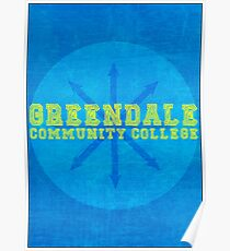 Community - Greendale Community College Poster