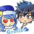 FT - Chibi Gruvia by beaglecakes