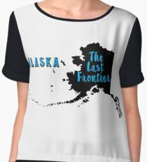 Alaska The last Frontier Chiffon Top