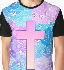 Vanilla cross Graphic T-Shirt