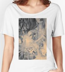 In the shadow of your heart, 120-80cm, 2016, oil on canvas Women's Relaxed Fit T-Shirt