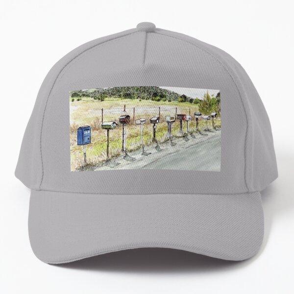 Australian Scene - Letterboxes Baseball Cap