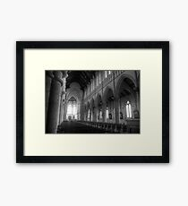 Bendigo Cathedral Framed Print