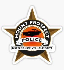 Blues Brothers - Mount Prospect Used Police Vehicles Sticker