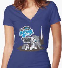 My Little Artax Women's Fitted V-Neck T-Shirt