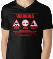 Warning Drift Drag Rally T-Shirt