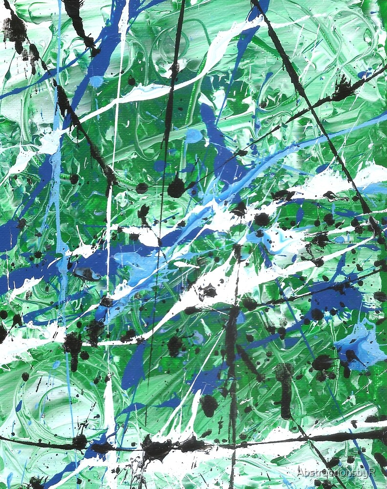Palette Knife Series 17 by AbstractionsbyR
