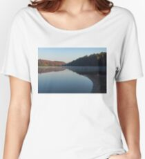 Tranquil Autumn Mirror -  Women's Relaxed Fit T-Shirt