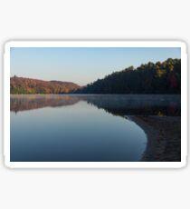 Tranquil Autumn Mirror -  Sticker