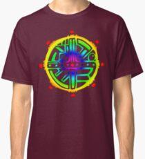 Tribal Circle Acid Sun  Classic T-Shirt