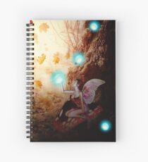 Spooky Forest and Fairy Spiral Notebook